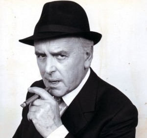 George Cole as Arthur Daley  MINDER 1988 THAMES TELEVISION